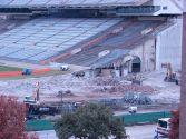 Darrell K. Royal Memorial Stadium, North End Zone Demolition